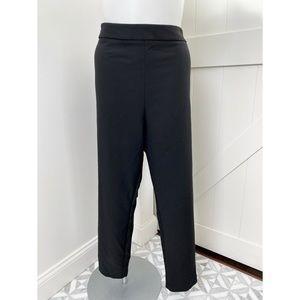 Asos Black Ankle Side Zipper Career Dress Pant